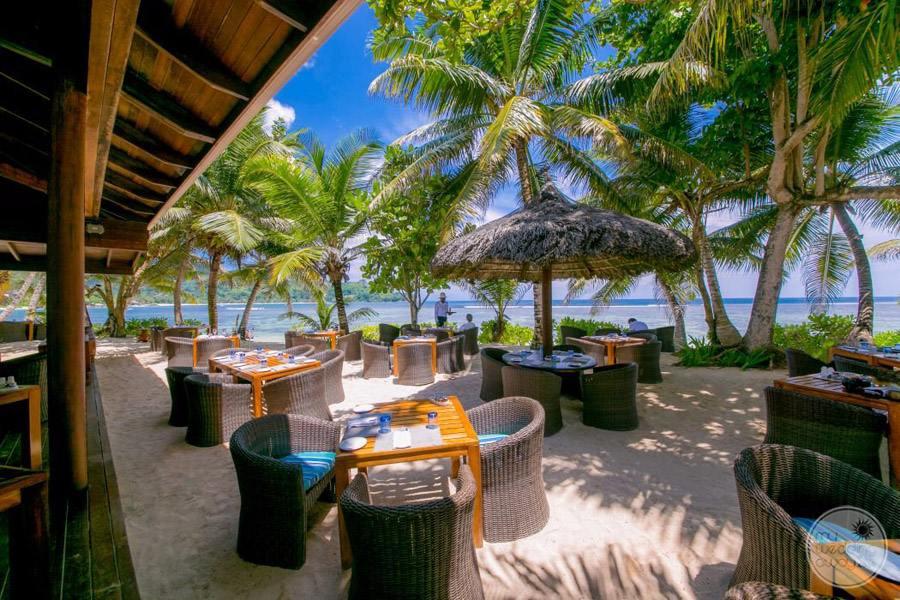 Kempinski Seychelles resort windsong beach restaurant