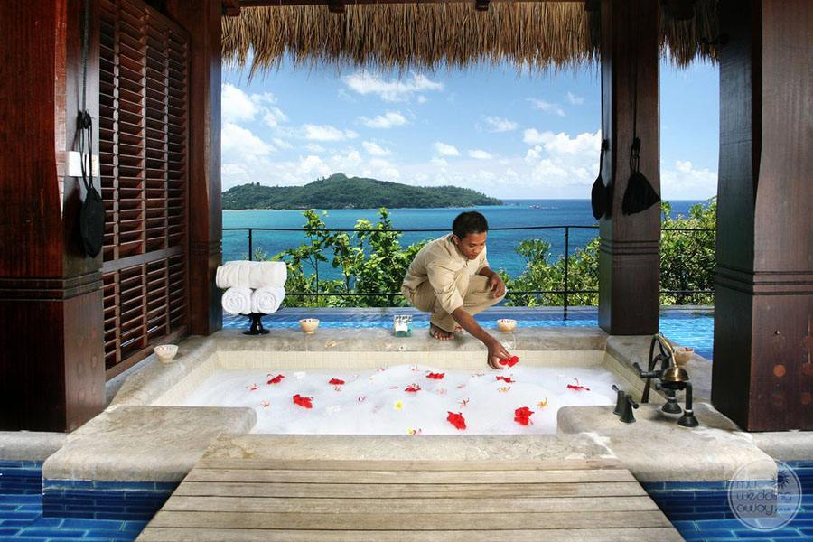 Maia Luxury Resort and Spa guest room