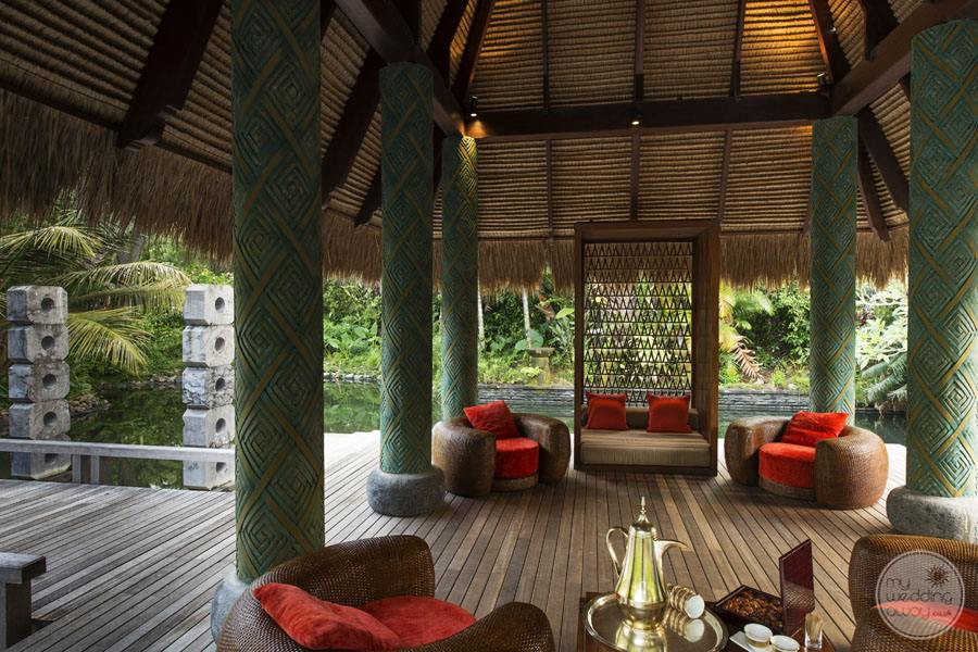 Maia Luxury Resort and Spa welcome pavillion
