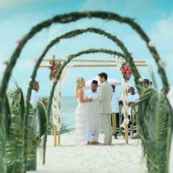 Mirihi Island Beach Wedding