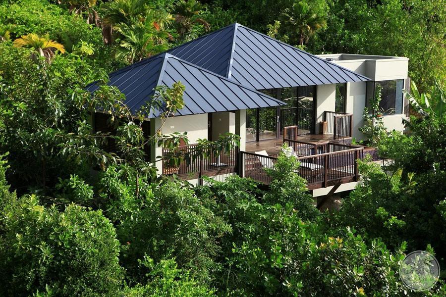 Raffles Seychelles Resort exterior room view