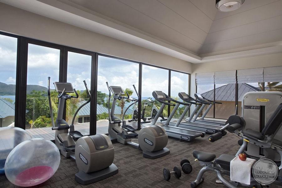 Raffles Seychelles Resort fitness Centre