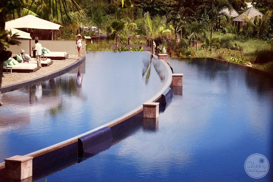 Raffles Seychelles Resort Infinity Pools
