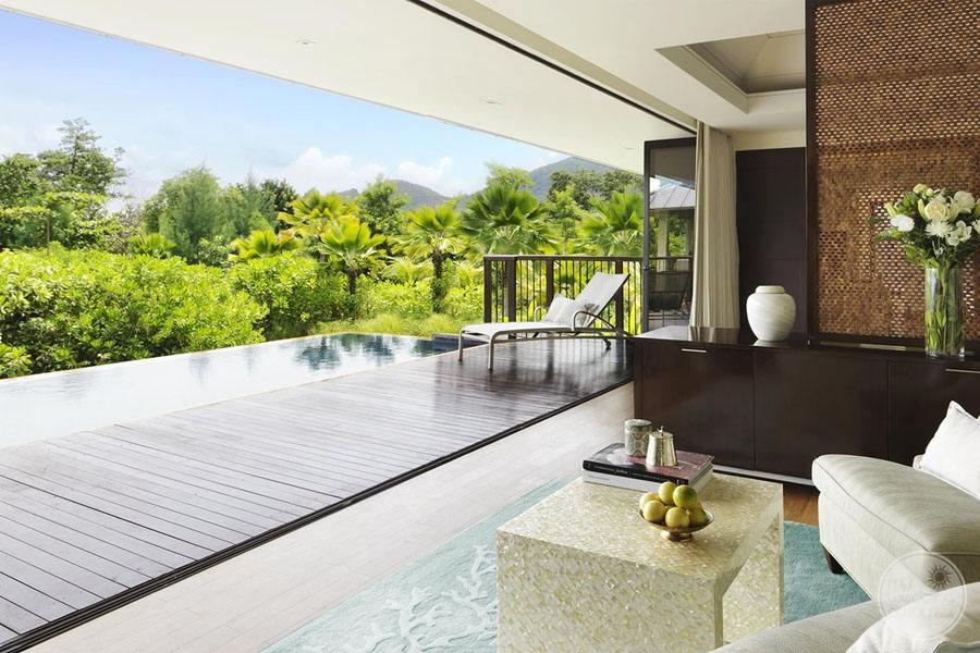 Raffles Seychelles Resort two bedroom beachfront