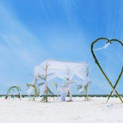 Soneva Jani Beach Destination Wedding