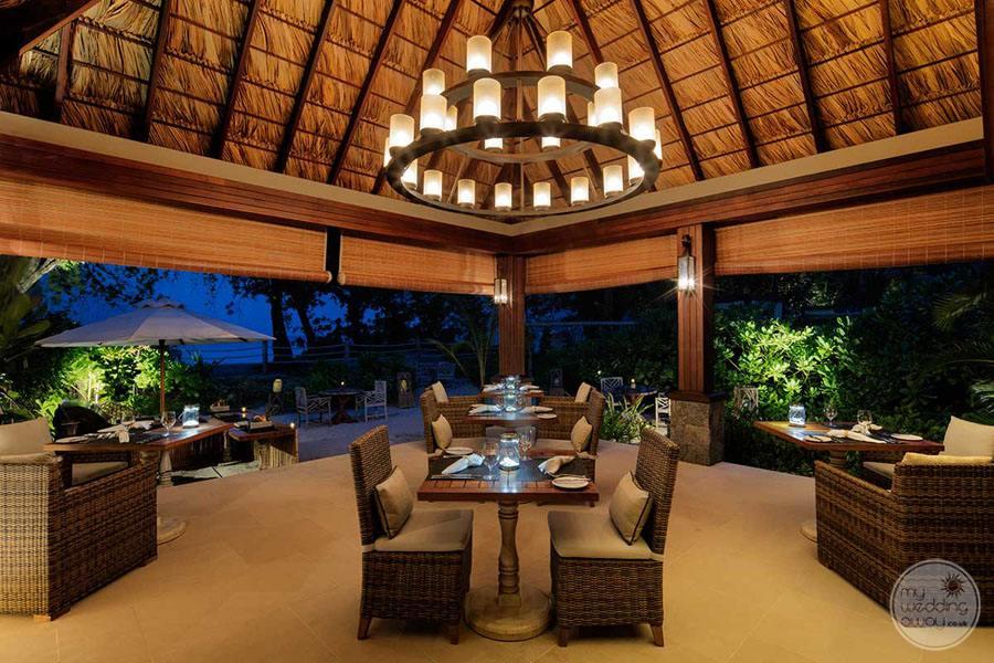 The H Resort Beau Vallon Beach Restaurant