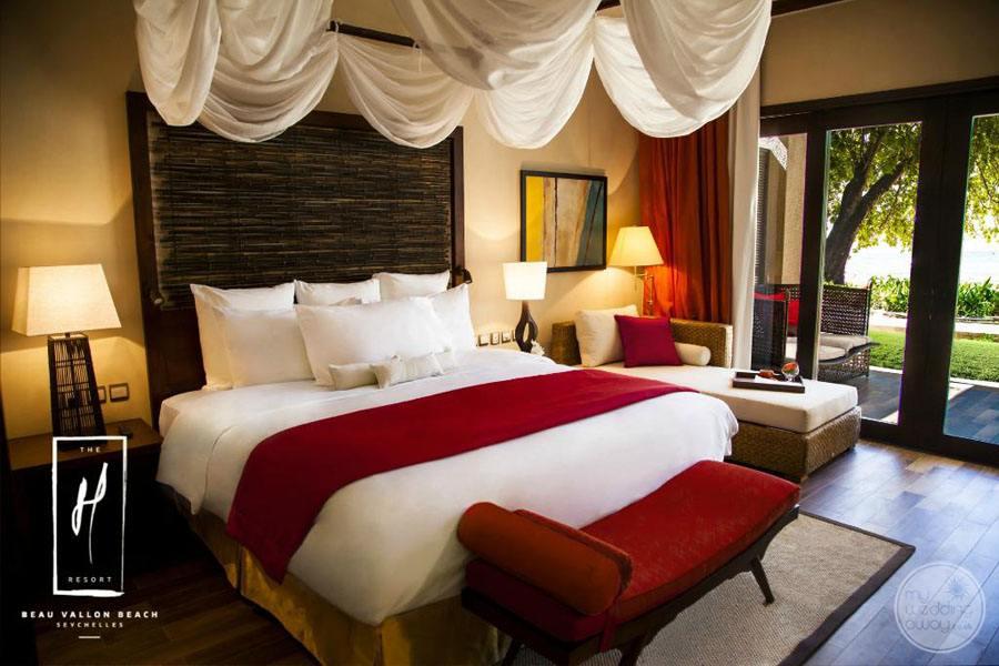 The H Resort Beau Vallon Beach Bedroom