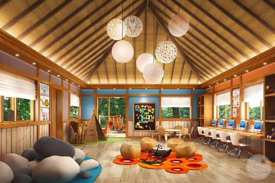 The H Resort Beau Vallon Beach childrens area