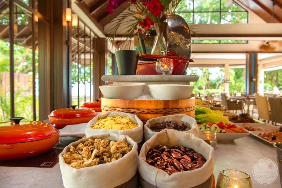 The H Resort Beau Vallon Beach Dining Room