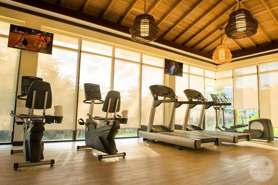 The H Resort Beau Vallon Beach fitness center