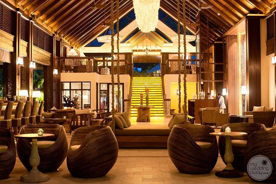 The H Resort Beau Vallon Beach beach lobby bar