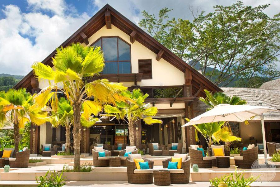 The H Resort Beau Vallon Beach outside terrace