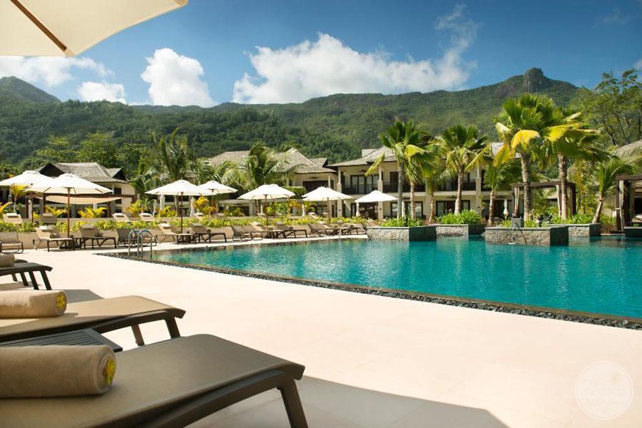 The H Resort Beau Vallon Beach pool