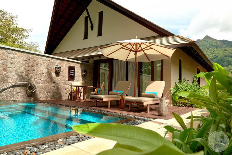 The H Resort Beau Vallon Beach Villa Exterior