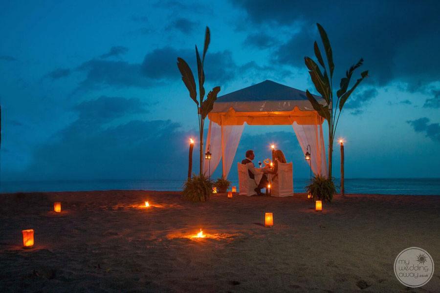 Anse Chastenet Dinner on the Beach