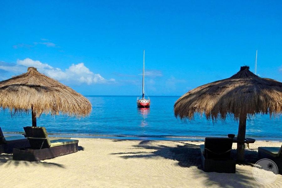 Anse Chastenet Beach Lounge Chairs