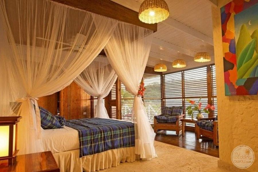 Anse Chastenet Bedroom Villa