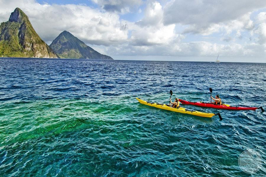 Anse Chastenet Ocean Kayaking