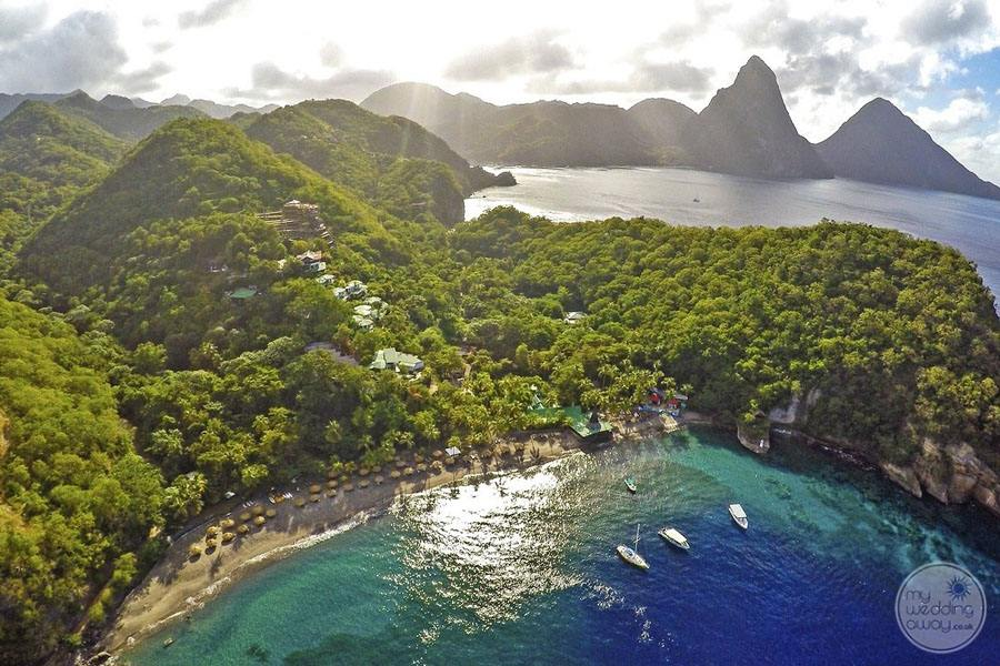 Anse Chastenet Overview of Resort