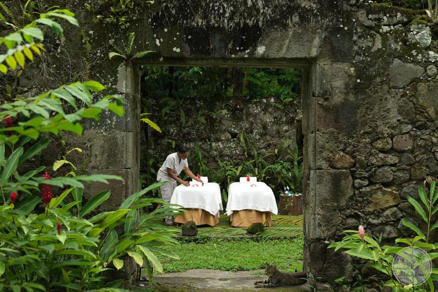 Anse Chastenet Spa Treatment at Old