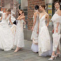 Brides on Street