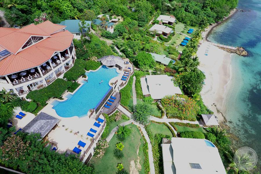 Calabash Cove Aerial View of Property