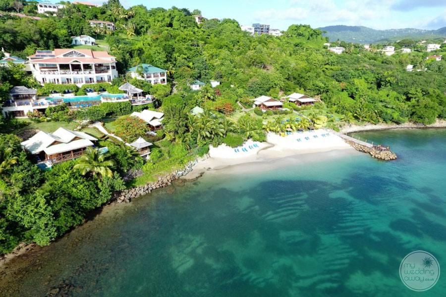 Calabash Cove Aerial View of Resort