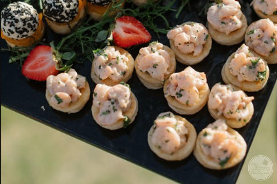 Calabash Cove Reception Cuisine