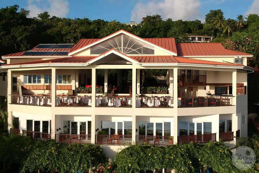 Calabash Cove Restaurant Aerial View