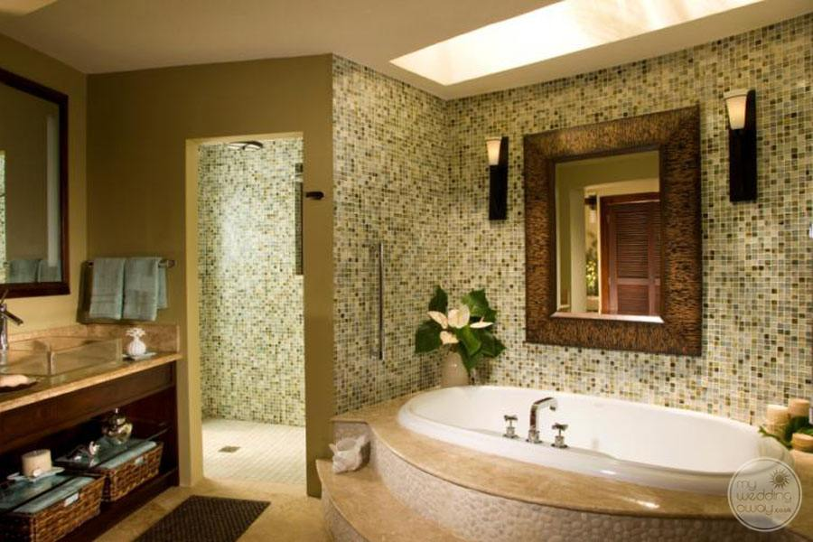 Suite bathrooms