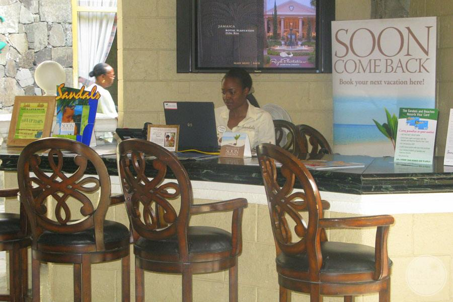 Sandals Halcyon Beach Main Reception