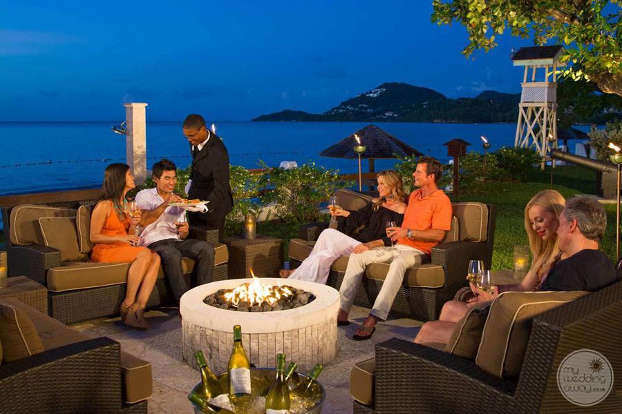 Evening Lounge Area