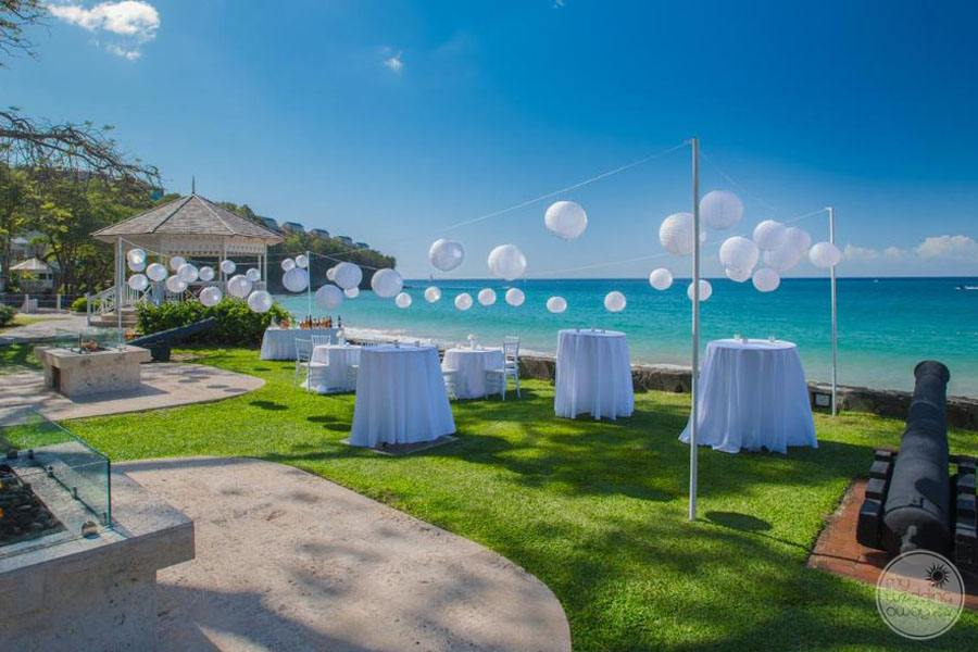 Oceanfront Gazebo Wedding Venue