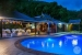 Stonefield-Villas-pool-at-night