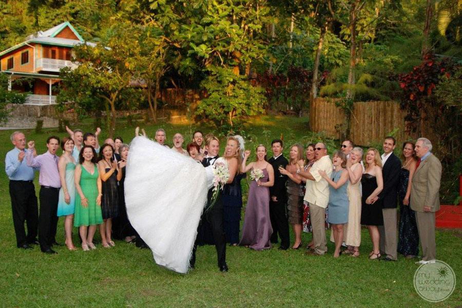 Wedding Couple on Grounds