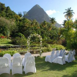 Sugar Beach Ceremony Site