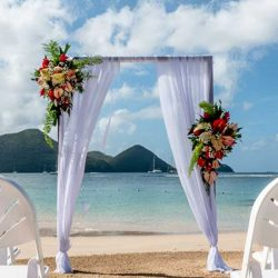 The Landings Beach Wedding Set-up