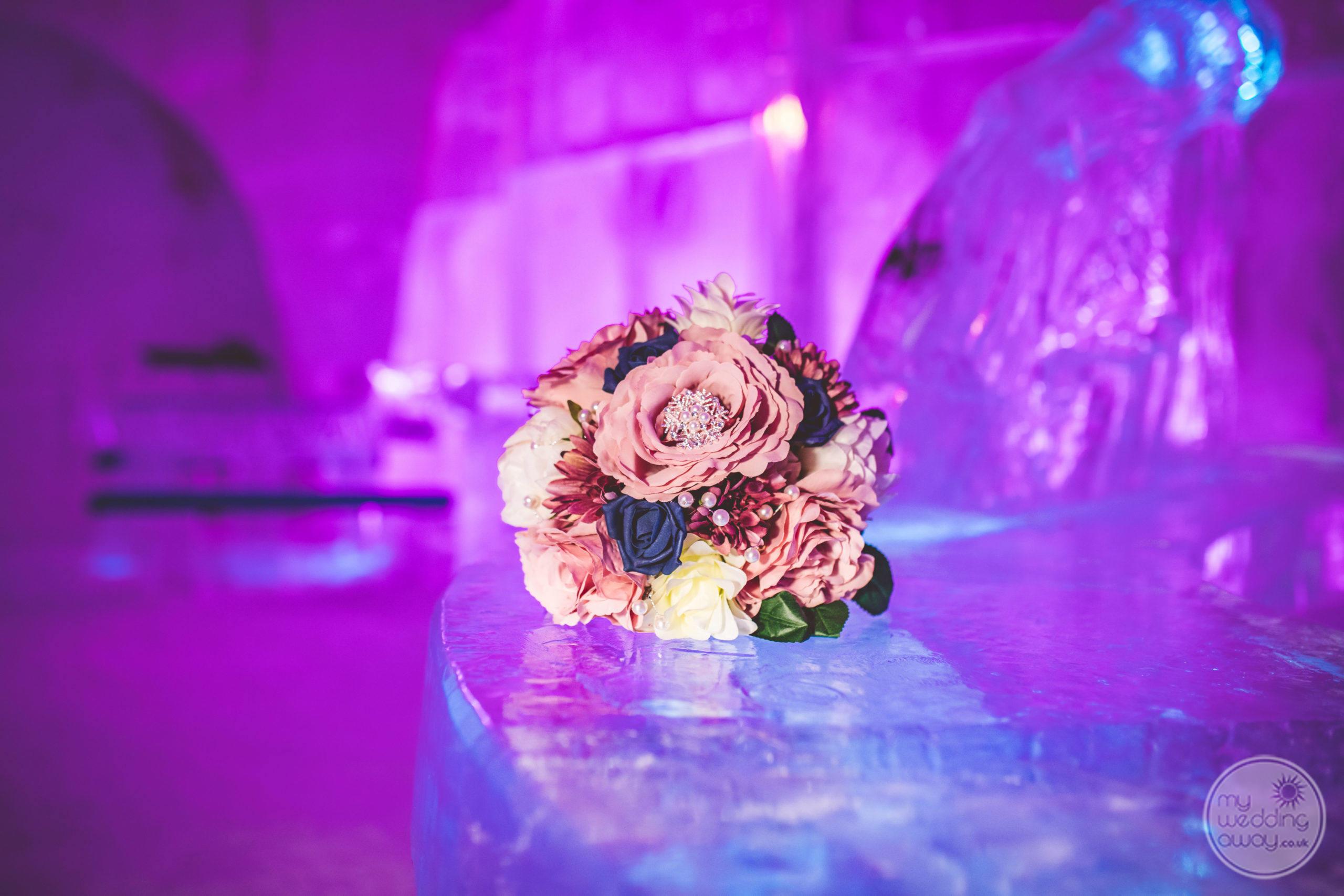 Luvattumaa Levi Ice Gallery, Finland