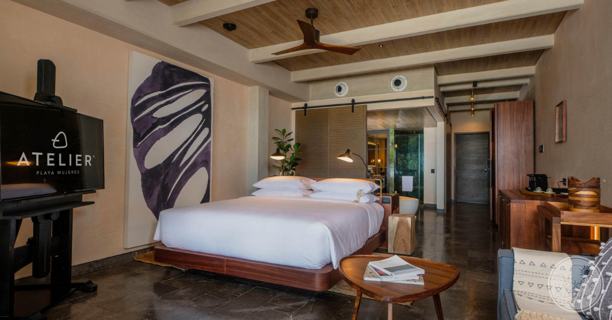 Atelier Playa Mujeres room accommodations