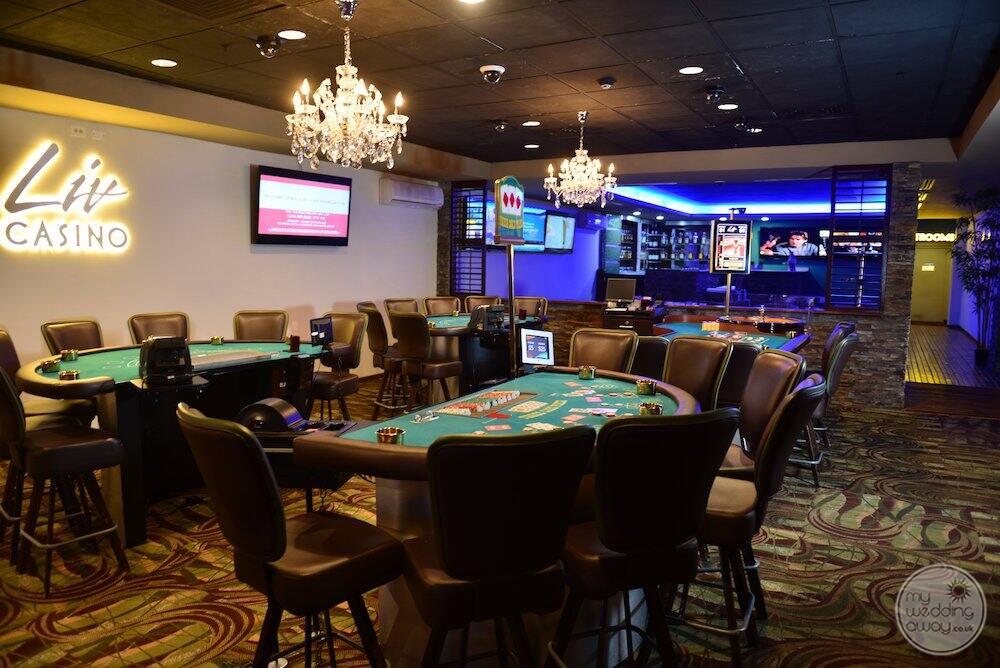 Liv casino located on property
