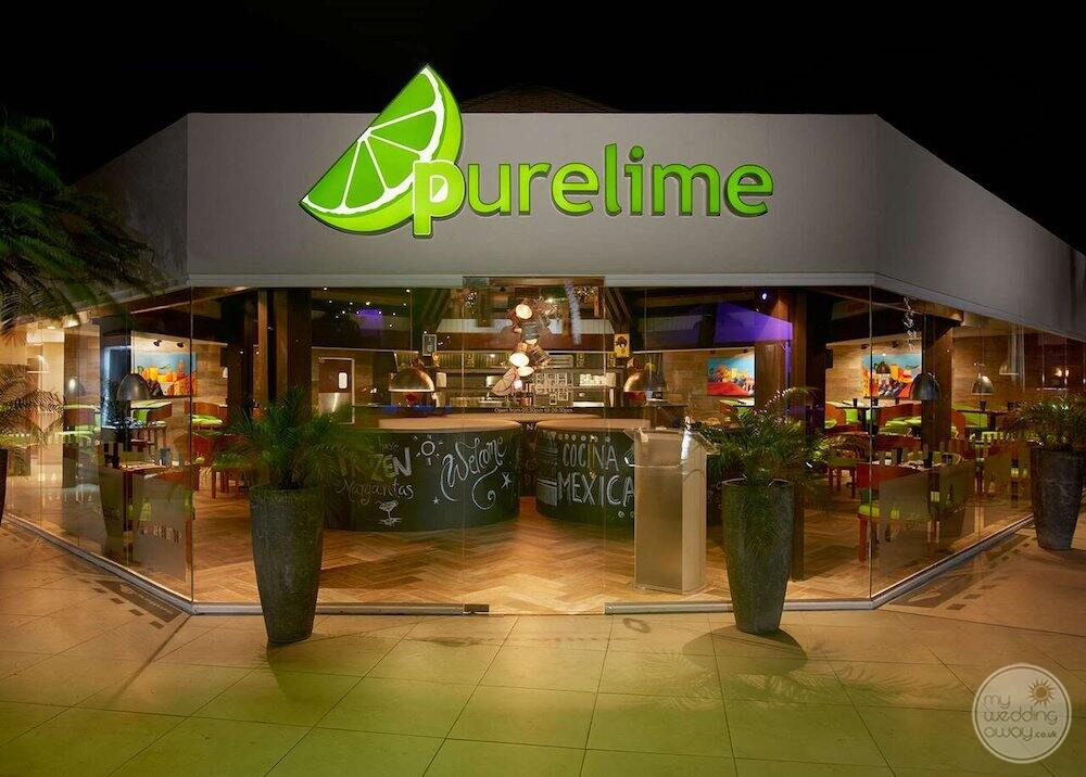 Pure and lime bar where nightly entertainment and drinks were served