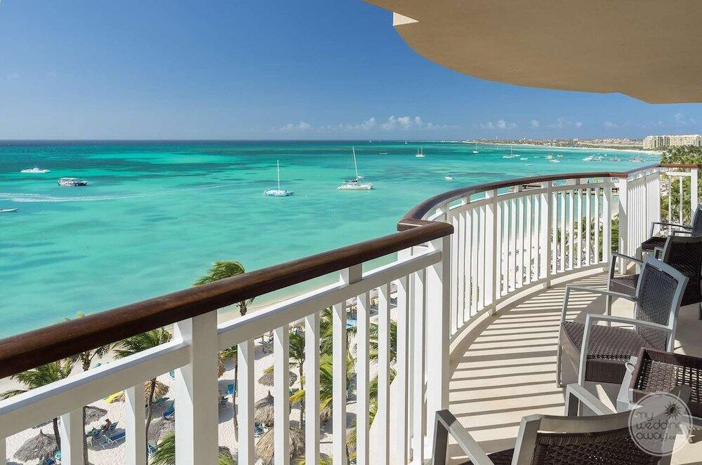 Do you have the Christian ocean from the deck of the bedroom suite