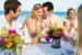 Excellence-Playa-Mujeres-wedding-couple-champayne-ha ha hatoasting-on-beach