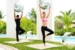 Excellence-playa-mujeres-exercise-couple-with-exercise-ball
