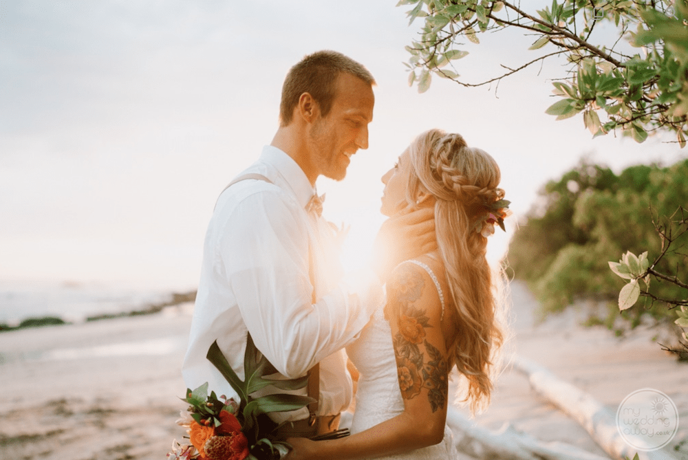 Plan to make your bride very happy on her wedding day!